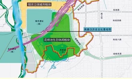 西安沣东新区规划图