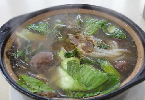 西安城热气腾腾砂锅美味大搜罗地铁路寿宁美食街图片