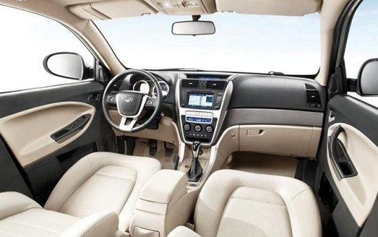 全球鹰GX7内饰-吉利首款SUV全球鹰GX7上市在即高清图片