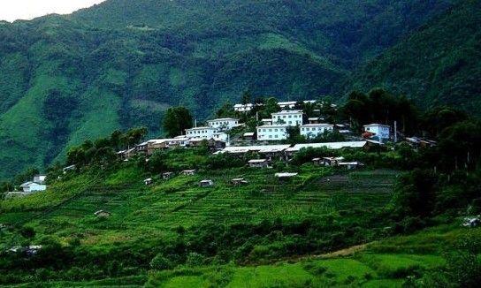 西藏林芝赛江南图片