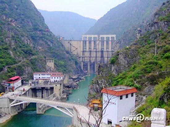汉中石门国家水利风景区位于陕西省