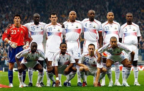法国国家足球队的100年