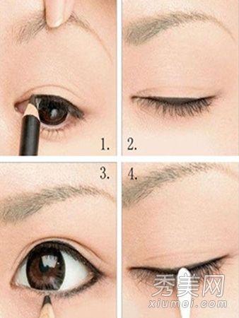 图解实用眼线画法 修饰眼型变大3倍
