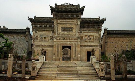 关中民俗艺术博物院,地处西安市长安区著名风景区南五台山脚下