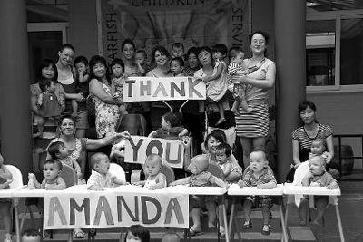 7月14日早上,海星之家的成员照了这张照片,遥祝阿曼达