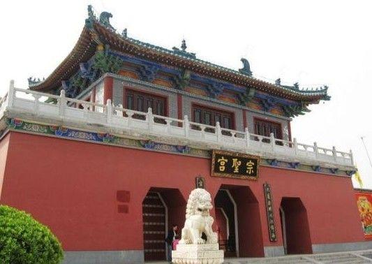 """屹立于县城西的""""八云塔""""为唐代建筑"""
