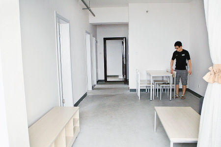 大户型居室宽敞明亮,设施一应俱全。