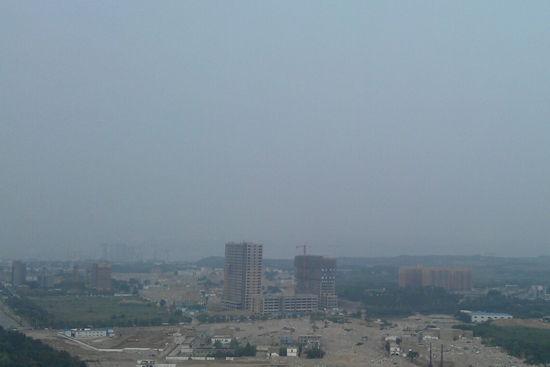 网友赵先生发布的西安市8月8日天气状况