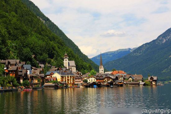 哈尔施塔特 世界上最美的小镇;