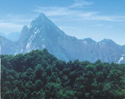 华山的诗词和文章,隋末绿林好汉王伯当在此聚义,名著《水浒传》中九纹