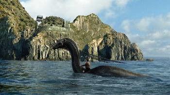 新疆红海水库水怪