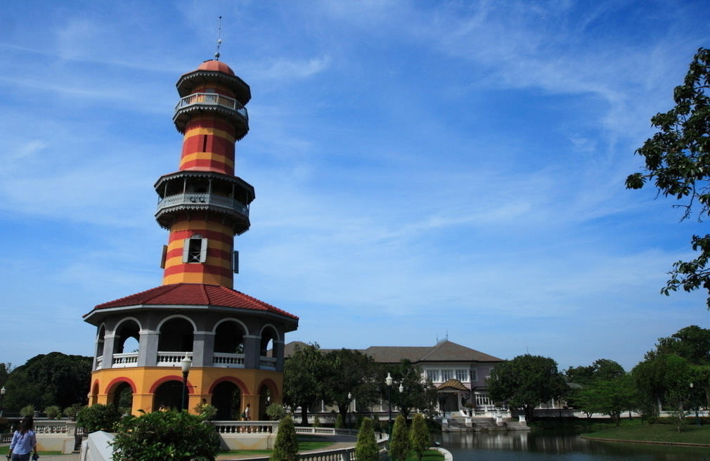 泰国大城夏宫