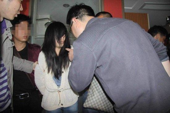 图为4月10日,南昌,犯罪嫌疑人黄某被抓获。
