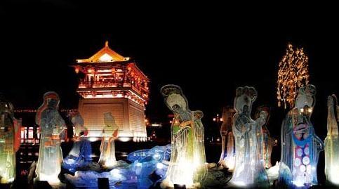 """城市风景 西安""""小香港""""纺织城的文艺新颜"""