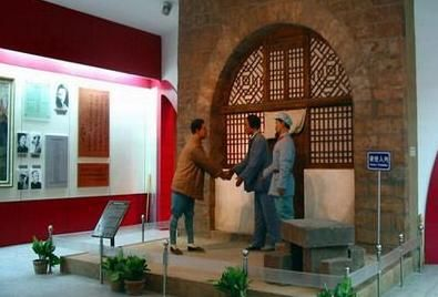 延安革命纪念馆   延安革命纪念馆位于宝塔区西北延河东岸,...