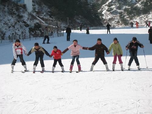 陕西时尚滑雪地