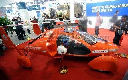 记者采访了西安航空基地通用航空产业园主任
