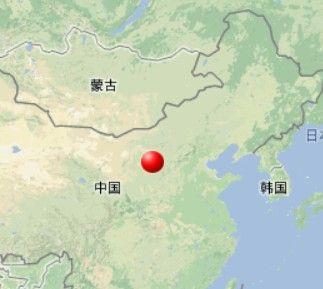陕西省榆林市神木县发生2.9级地震