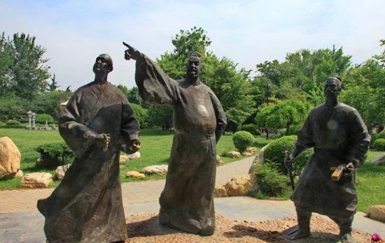 春晓园(现在的慈恩寺遗址公园)   西安大雁塔曲江风景区有汉唐