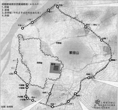 一起来揭秘南京城墙城门那点事