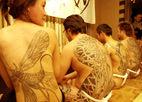 """日本神秘的""""黑""""时尚刺青习俗"""