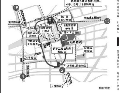 西安北客站的高铁乘车步骤图片