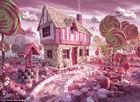 食物创造梦幻童话世界