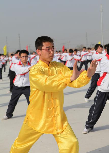 越南的功夫佬耍白鹤拳