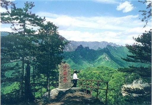 大美汉中之略阳五龙洞国家森林公园