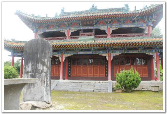 汉中洋县智果寺藏经楼
