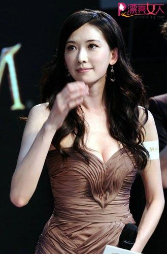台湾第一美女林志玲华丽现身