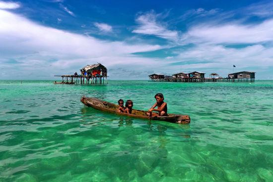 仙本那_仙本那旅游攻略_马来西亚仙本那风景