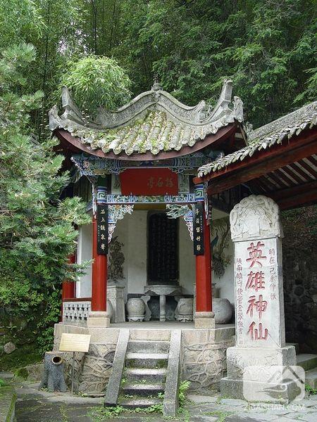 张良庙-英雄神仙