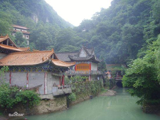 景点推介 汉中南郑县小南海风景区