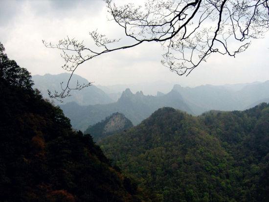 陕西略阳县五龙洞国家森林公园