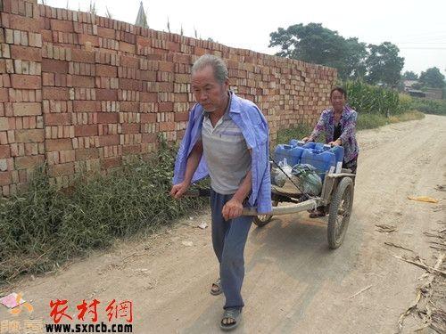 武功县大庄镇张寨村村民啥时不再为吃水发熬煎
