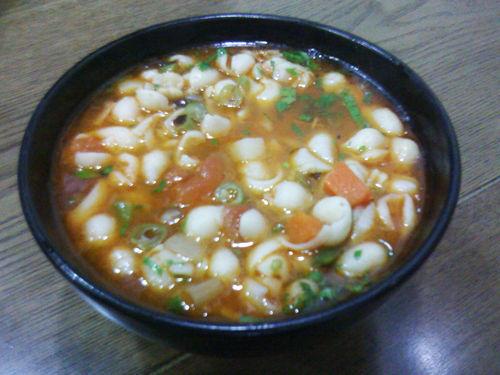 西安古城地方美食之特色陕西小吃麻食_新浪榆街美食春熙图片