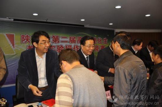 陕第二届高中理化生教师实验技能竞赛举办