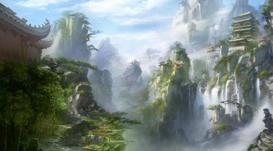 壁纸 风景 旅游 瀑布 山水 桌面 550_305