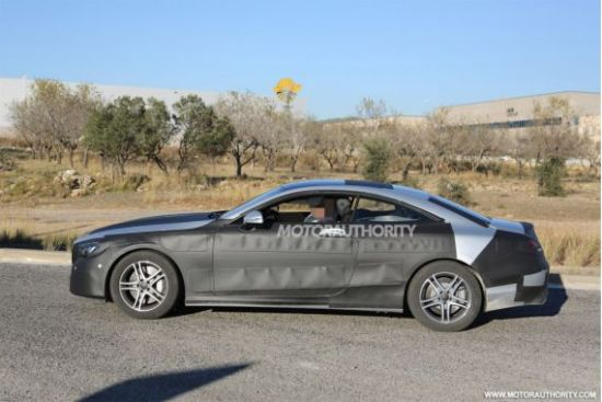 新款奔驰S级Coupe谍照