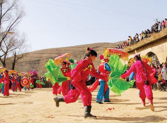 陕北秧歌-百年 场子 三代人
