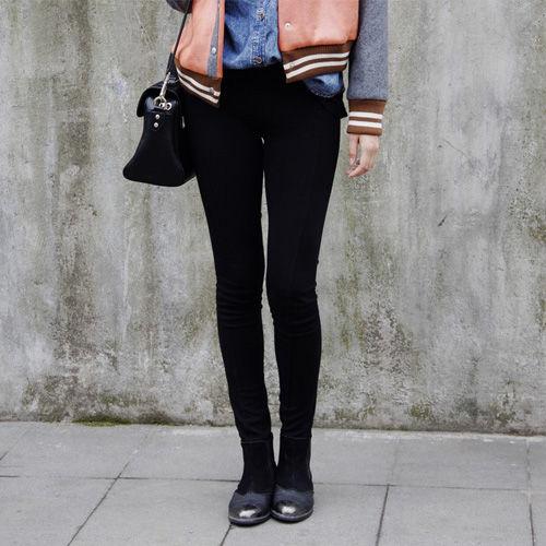 女生穿衣必看 穿黑色打底裤的注意事项;