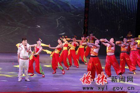 """""""中国梦61榆林情""""幸福榆林2014春节晚会上演"""