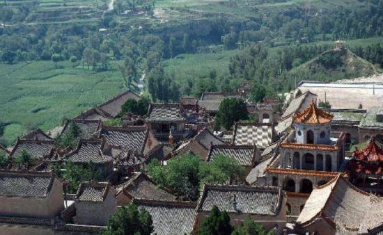 陕西榆林旅游景点:青云寺