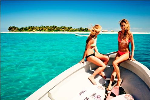 海岛旅游服装图片