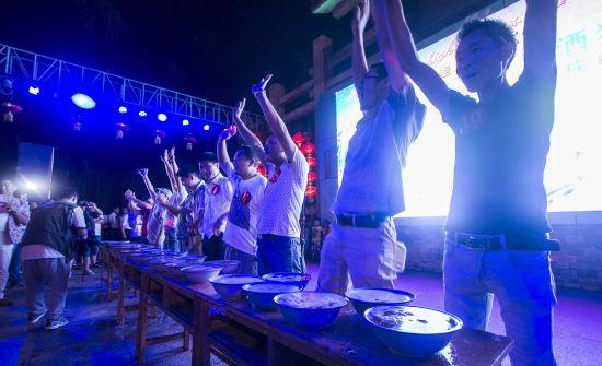 六届音乐啤酒节暨金星啤酒嘉年华活动在洛阳栾川重渡沟风景区盛大启动