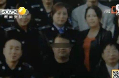 杨峰(陕西电视台报道截图)