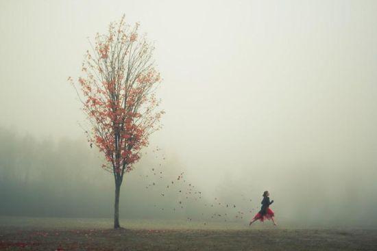 美女行走世界 独自走在世界最美的地方