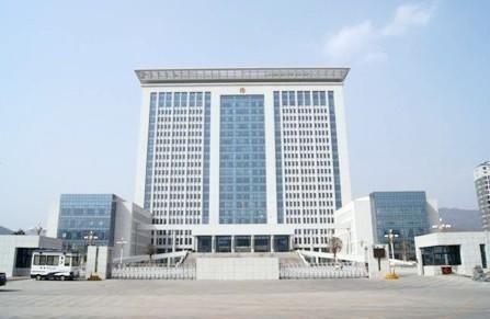 商洛市行政中心综合楼(资料图)。