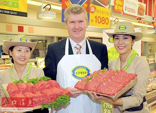 """外媒:中国对牛肉胃口大增 澳矿企""""转型""""卖牛肉"""